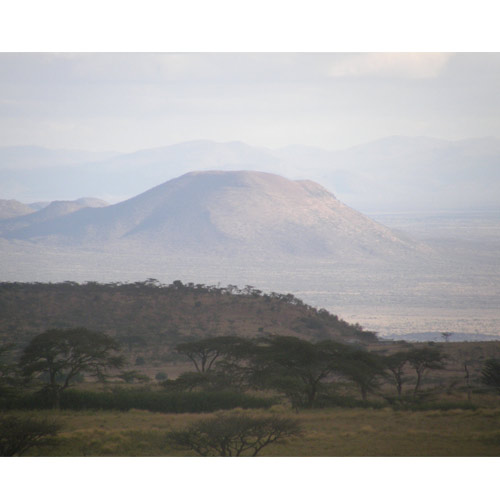 View of the Rift Valley towards Olorgesailie