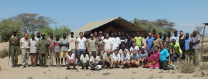 IN-AFRICA field team 2013