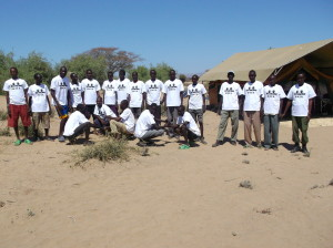 The IN-AFRICA Turkana team ready to help